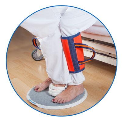 Láböv használatban - betegmozgatás - Medifair.hu