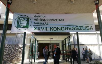 27.Magyar Műtősasszisztensi Társulat Kongresszus