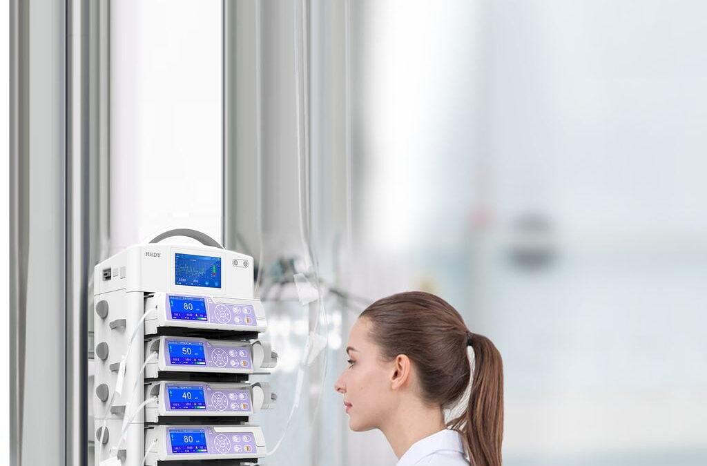 Az infúziós pumpa használata : Különbség a volumetrikus és a fecskendős infúziós pumpa közt